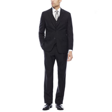 jcpenney.com | Steve Harvey® Black Herringbone Suit Separates