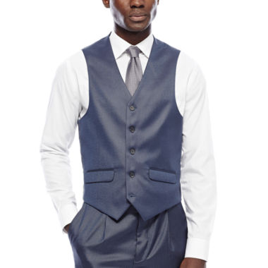 jcpenney.com | Steve Harvey® Blue Suit Vest