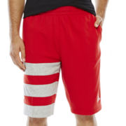 adidas® Fat Stripes Basketball Shorts