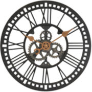 Roman Gear Clock