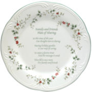 Pfaltzgraff® Winterberry Friends & Family Round Serving Platter