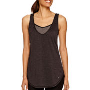 Xersion™ Open-Back Tank Top with Built-in Bra