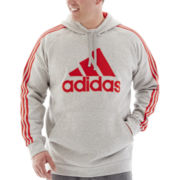 adidas® Essential Pullover Fleece Hoodie-Big & Tall