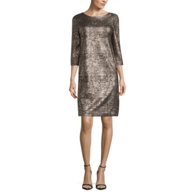 jcpenney.com | Robbie Bee Elbow Sleeve Sheath Dress
