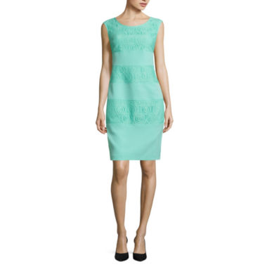 jcpenney.com | London Style Sleeveless Sheath Dress
