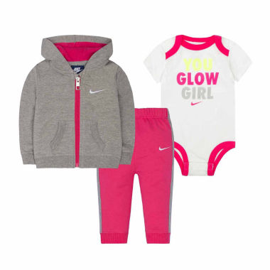 jcpenney.com | Nike 3-pc. Long Sleeve Pant Set