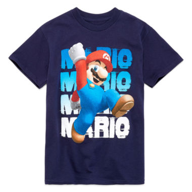 jcpenney.com | Boys Super Mario Graphic T-Shirt-Big Kid