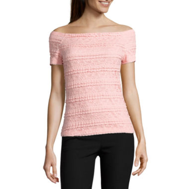 jcpenney.com | by&by Short Sleeve T-Shirt-Juniors