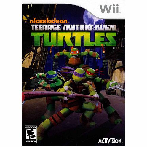 Teenage Mutant Ninja Ttle Video Game-Wii