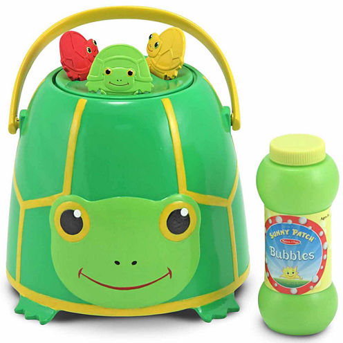 Melissa & Doug® Tootle Turtle Bubble Bucket