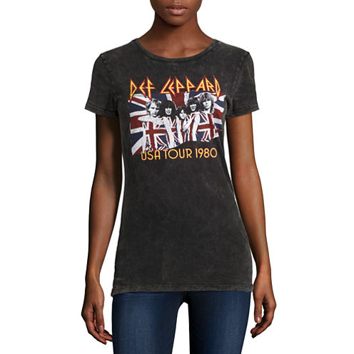 Def Leppard T-Shirt- Juniors