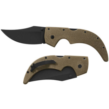 "jcpenney.com | Cold Steel Medium Edge 3.5"" Coyote Folding Knife"