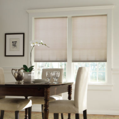 "jcpenney.com | Bali® Custom Daybreak Cordless Light Filtering ⅜"" Double Cellular Shade"