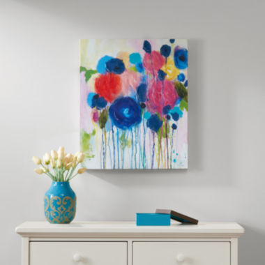 jcpenney.com | Intelligent Design Hearts And Flowers Canvas Art