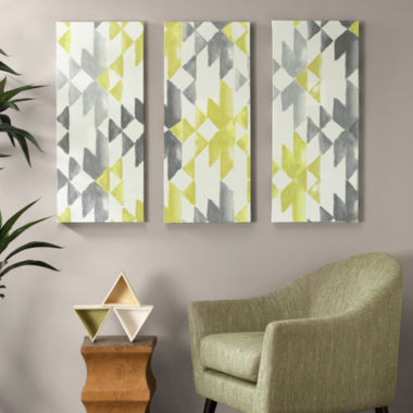 jcpenney.com | INK+IVY Yellow Sierra Printed Canvas Art