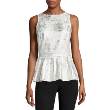 jcpenney.com | Worthington Sleeveless Peplum Top