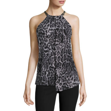 jcpenney.com | Worthington Sleeveless Crew Neck Knit Blouse