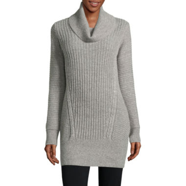 jcpenney.com | Alyx Long Sleeve Cowl Neck Pullover Sweater