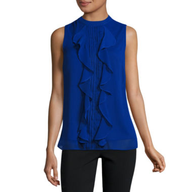jcpenney.com | Alyx Sleeveless Mock Neck Blouse