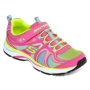 Skechers® Lite Swirlz Girls Sneakers - Little Kids