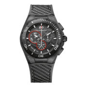 TechnoMarine® Mens Black Chronograph Watch