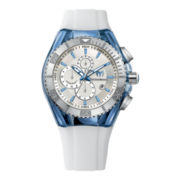 TechnoMarine® Cruise Original Mens White Chronograph Watch