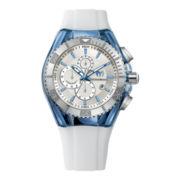 TechnoMarine® Cruise Original Mens White Chronograph Watch