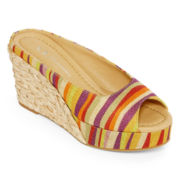 CL by Laundry Date Night Flatform Wedges