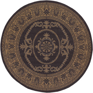 jcpenney.com | Couristan® Antique Medallion Indoor/Outdoor Round Rug