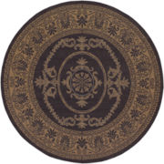 Couristan® Antique Medallion Indoor/Outdoor Round Rugs