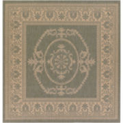 Couristan® Antique Medallion Indoor/Outdoor Square Rugs
