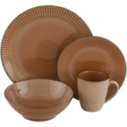 Sango Corona 16-pc. Reactive Glaze Dinnerware Set