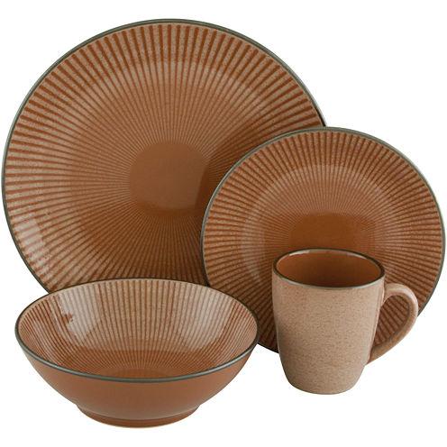 Sango Corona 16-pc. Reactive Glaze Dinnerware Set