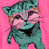Fun Pink Cat