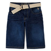 U.S. Polo Assn.® Belted Shorts - Boys 8-18