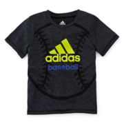 adidas® Short-Sleeve Graphic Knit Tee – Boys 4-7x