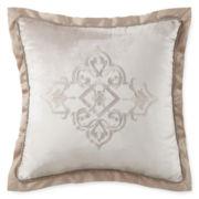 Royal Velvet® Battista Tufted Square Decorative Pillow