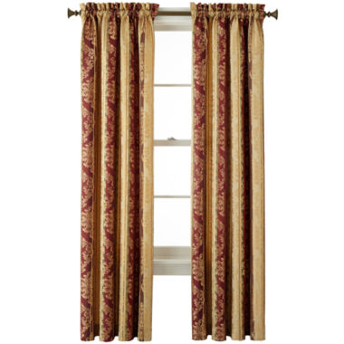 jcpenney.com | Home Expressions™ Regan Rod-Pocket Curtain Panel