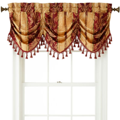 ... Decorating Jcpenney Window Valances : Home Expressions Regan Tuck  Valance ...