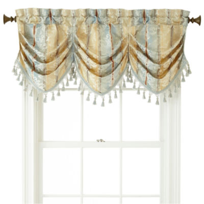 Beautiful ... Decorating Jcpenney Window Valance : Cheap Home Expressionsâu201e¢ Regan  Tuck Valance   Review Window ...