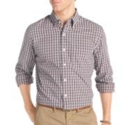 IZOD® Long-Sleeve Tartan Woven Shirt