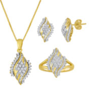 3/8 CT. T.W. Diamond 10K Yellow Gold Jewelry