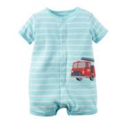 Carter's® Fire Truck Creeper - Baby Boys newborn-24m