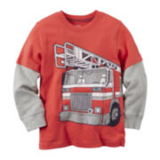 Carter's® Fire Truck Tee - Preschool Boys 4-7