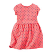 Carter's® Short-Sleeve Neon Dress - Toddler Girls 2t-5t