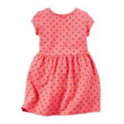 Carter's® Short-Sleeve Neon Dress - Toddler Girls 2t-5t