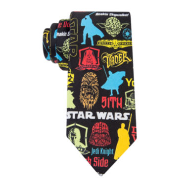 jcpenney.com | Star Wars® Pop Stickers Tie - Boys