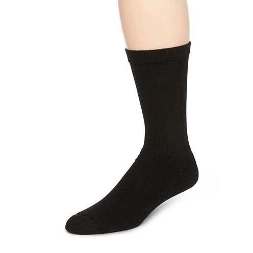 Hanes® Mens 6-Pk. Comfortblend® Full Cushion Crew Socks + Bonus Pair