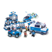 BricTek Police Station Building Set
