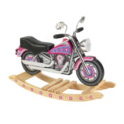 KidKraft® Rocking Motorcycle - Flower Power